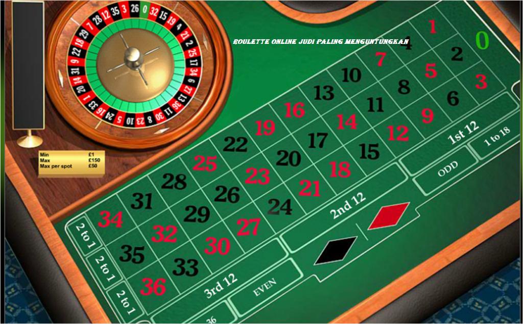Roulette Online Judi Paling Menguntungkan